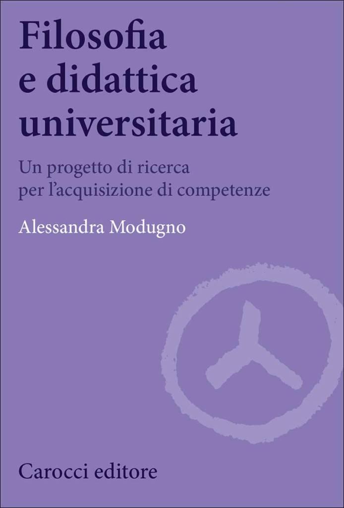 """""""Filosofia e didattica universitaria"""" di Alessandra Modugno"""