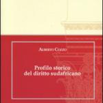 """""""Profilo storico del diritto sudafricano"""" di Alberto Cozzo"""