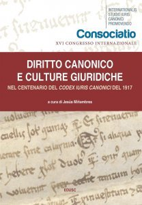 Diritto Canonicoe culture giuridiche nel centenario delCodex Iuris Canonicidel 1917, Jesús Miñambres