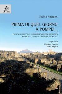Prima di quel giorno a Pompei... Tecniche costruttive, vulnerabilità sismica, riparazioni e rinforzi al tempo dell'eruzione del 79 d.C., Nicola Ruggieri