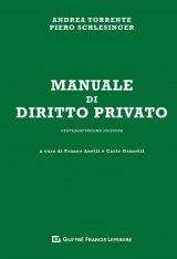 """""""Manuale di diritto privato"""" di Andrea Torrente e Piero Schlesinger"""