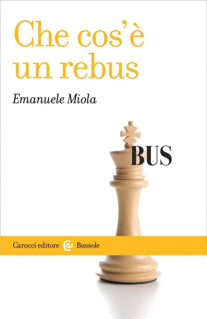 """Che cos'è un rebus"" di Emanuele Miola"