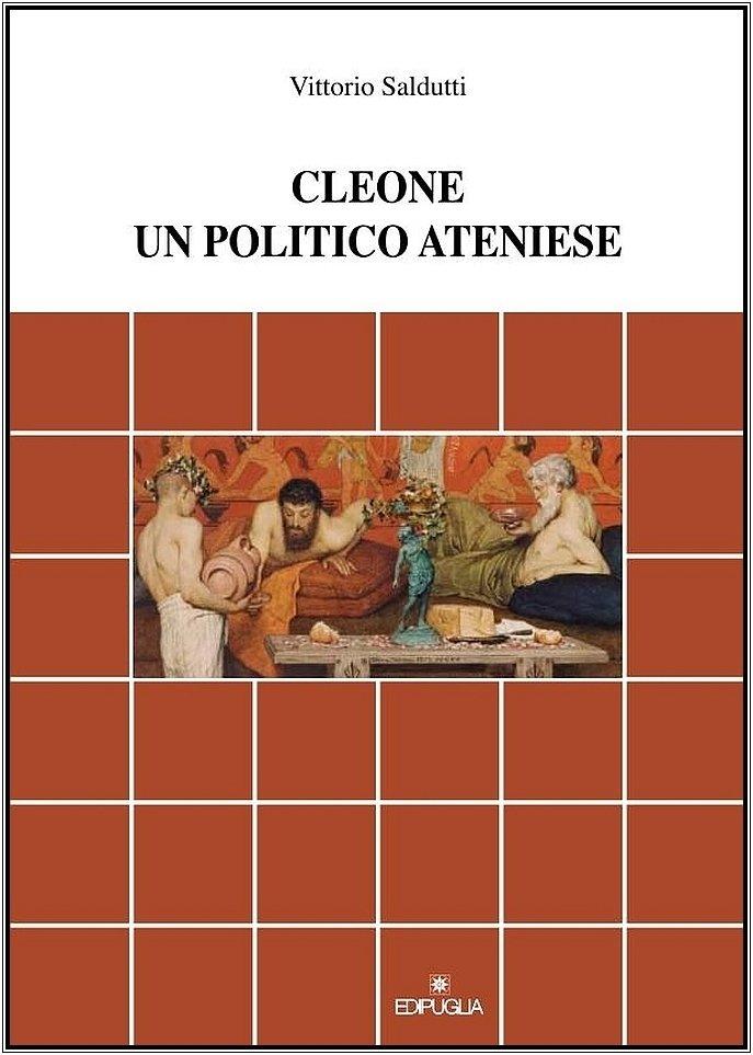 """Cleone. Un politico ateniese"" di Vittorio Saldutti"
