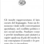 """""""Insultare gli altri"""" di Filippo Domaneschi"""