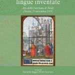"""""""Lingue naturali, lingue inventate"""" a cura di Serenella Baggio"""