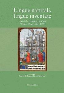 Lingue naturali, lingue inventate, Serenella Baggio