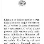 """Declino Italia"" di Andrea Capussela"