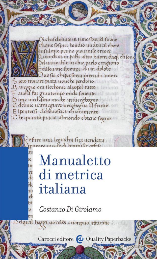 """""""Manualetto di metrica italiana"""" di Costanzo Di Girolamo"""