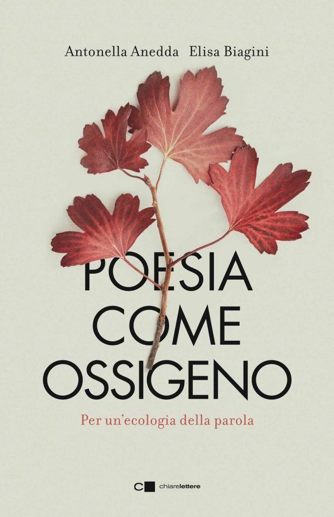 """""""Poesia come ossigeno. Per un'ecologia della parola"""" di Antonella Anedda ed Elisa Biagini, a cura di Riccardo Donati"""