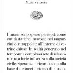 """""""Le memorie del futuro. Musei e ricerca"""" di Christian Greco ed Evelina Christillin"""